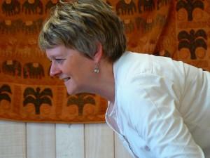Annick Pirson, professeur de yoga à Tongrinne