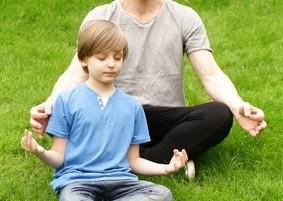 Méditation en famille